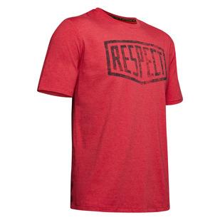 Project Rock Graphic Respect - T-shirt athlétique pour homme