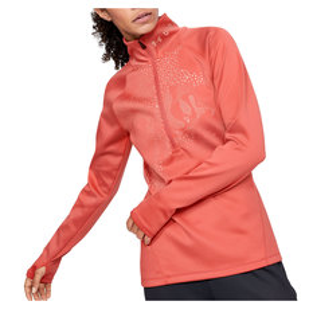 ColdGear Armour Graphic - Women's Half-Zip Sweater