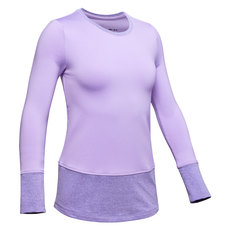 ColdGear Crew Jr - Girls' Athletic Long-Sleeved Shirt