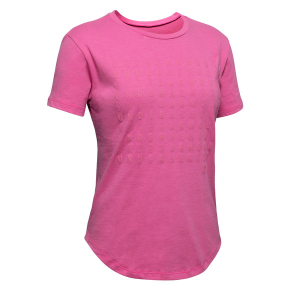 Branded Repeat Jr - Girls' Athletic T-Shirt