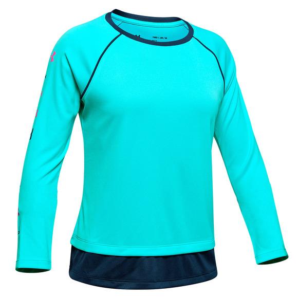 Tech Jr - Girls' Athletic Long-Sleeved Shirt