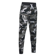 Rival Printed Camo Jr - Boys' Fleece Pants