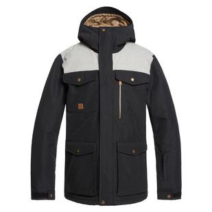 Raft JK - Manteau d'hiver à capuchon pour homme