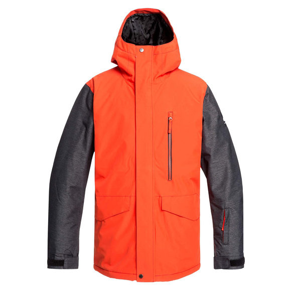 Mission JK - Manteau d'hiver à capuchon pour homme