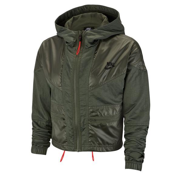 Sportswear Windrunner Cargo Rebel - Blouson à capuchon pour femme