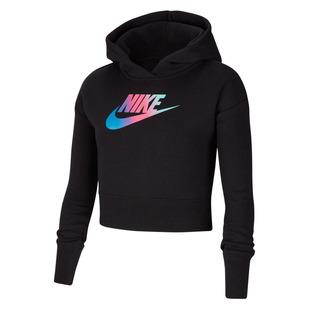 Sportswear Jr - Girls' Cropped Hoodie