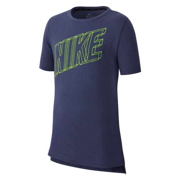 Dri-FIT Breathe Jr - Boys' Athletic T-Shirt