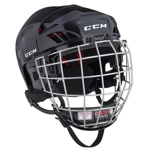 CCM50 Combo Sr - Casque de hockey avec grille pour senior