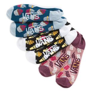 Sugar Tooth Canoodles - Socquettes pour femme (Paquet de 3 paires)