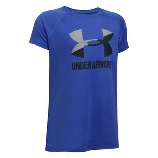 Solid Big Logo Jr - T-shirt athlétique pour fille