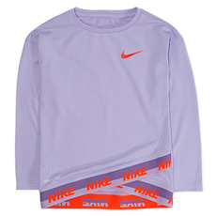 Sport Essentials Cross Y - Girls' Long-Sleeved Shirt