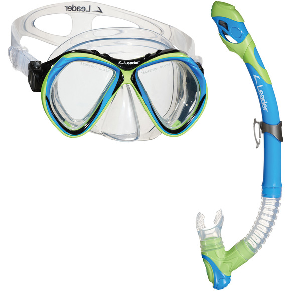 Curacao Combo - Adult Mask And Snorkel