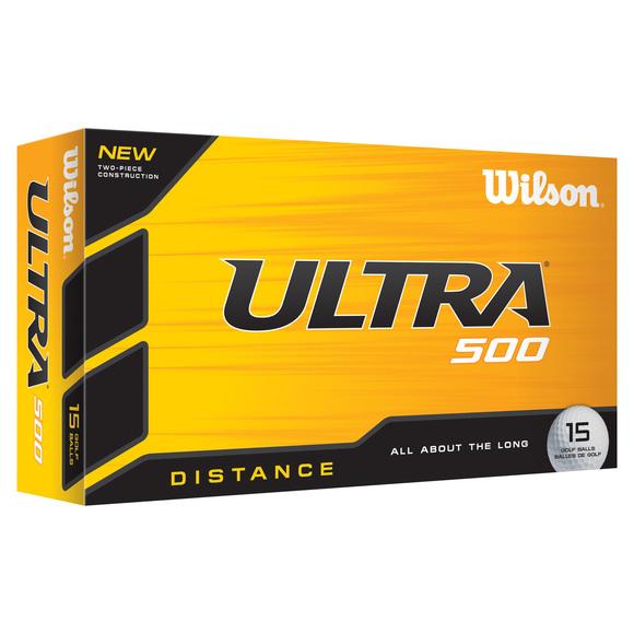 Ultra 500 Distance - Boîte de 15 balles de golf