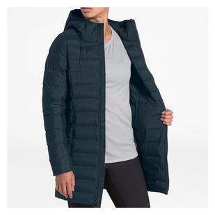 Stretch Down Parka - Manteau isolé en duvet pour femme