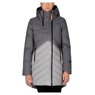 Ayaba - Manteau isolé en duvet pour femme