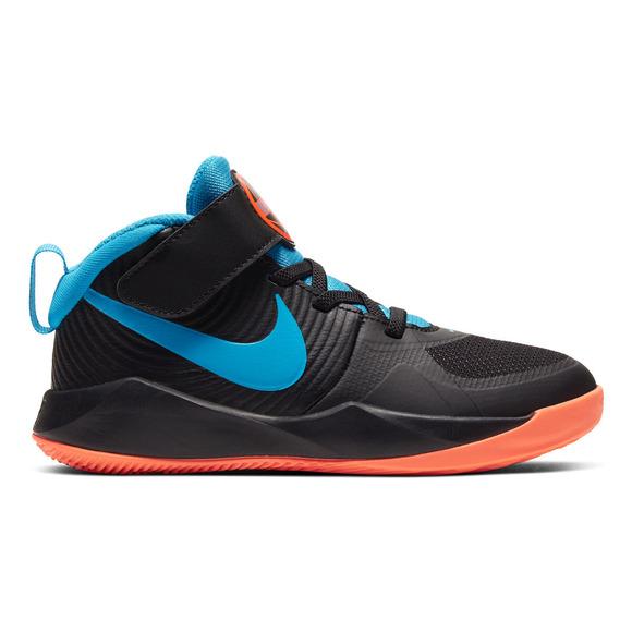 Team Hustle D 9 (PS) - Chaussures de basketball pour enfant