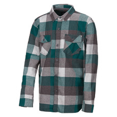 Box Flannel Jr - Boys' Long-Sleeved Shirt