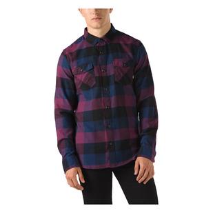 Box - Men's Flannel Long-Sleeved Shirt
