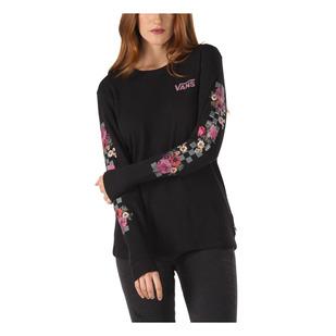 Brunching Check - Women's Long-Sleeved Shirt
