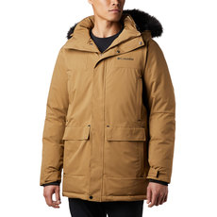 Winter Rebellion - Manteau isolé en duvet pour homme