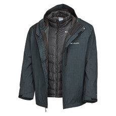 Whirlibird IV (Plus Size) - Men's 3-in-1 Hooded Winter Jacket
