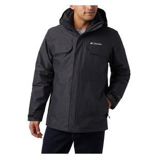 Cloverdale IC - Manteau d'hiver à capuchon 3 en 1 pour homme