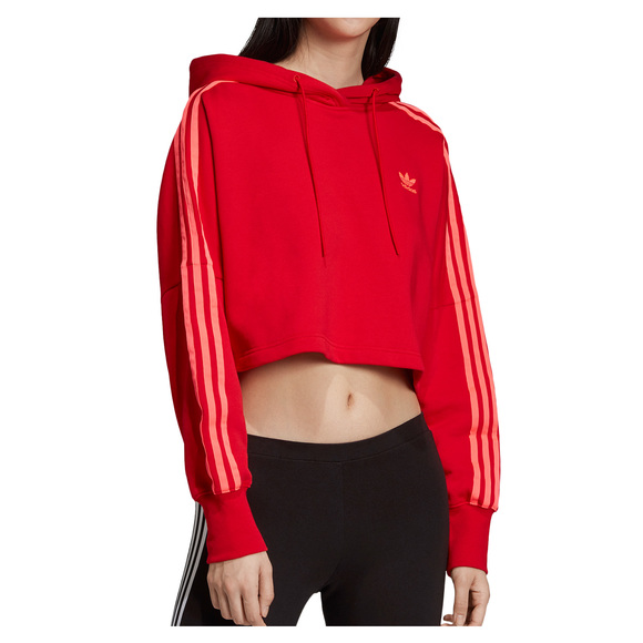 adf4574f ADIDAS ORIGINALS Adicolor Cropped - Women's Hoodie