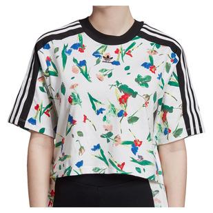 Cropped AOP Tee - Women's T-Shirt