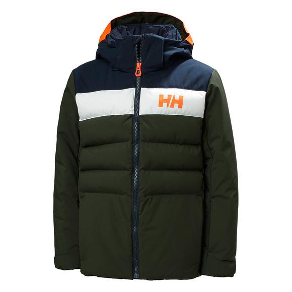 Cyclone Jr - Manteau d'hiver à capuchon pour garçon