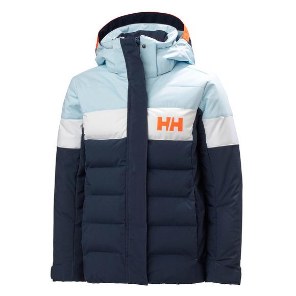 Diamond Jr - Manteau d'hiver à capuchon pour fille