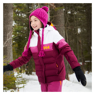 Diamond Jr - Girls' Hooded Winter Jacket
