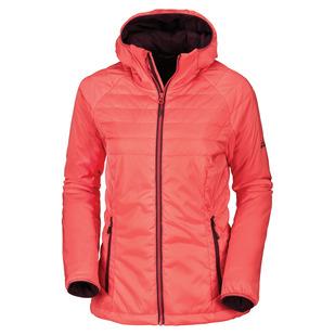 Teide - Manteau isolé à capuchon pour femme