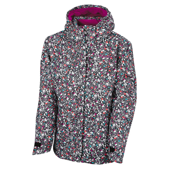 Nordic Jump Jr - Girls' Hooded Jacket