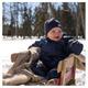 Snuggly Bunny - Habit de neige en duvet pour bébé   - 3