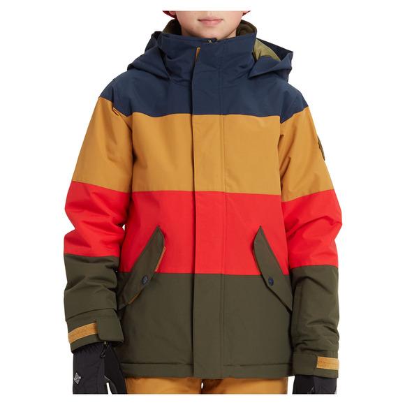 Symbol - Manteau de planche à neige pour Junior