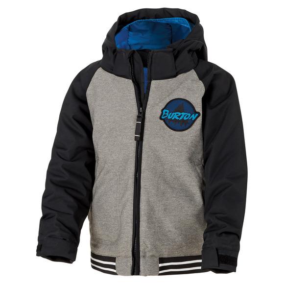 Minishred Gameday Bomber - Manteau à capuchon pour garçon