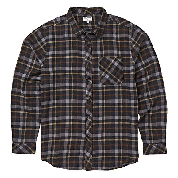 Freemont - Men's Flannel Long-Sleeved Shirt