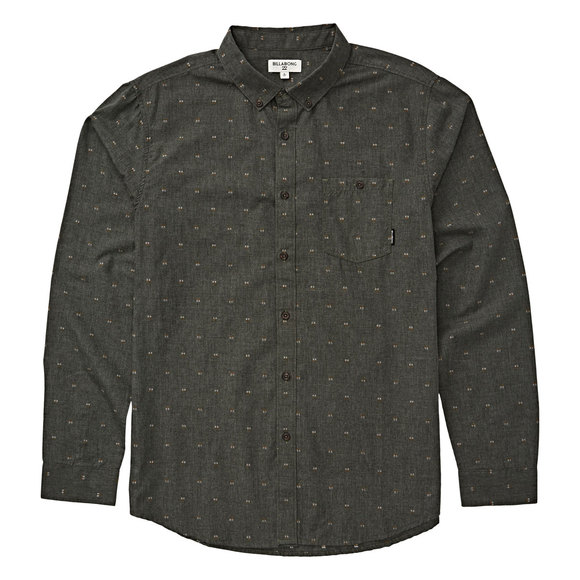 All Day Jaquard - Men's Long-Sleeved Shirt