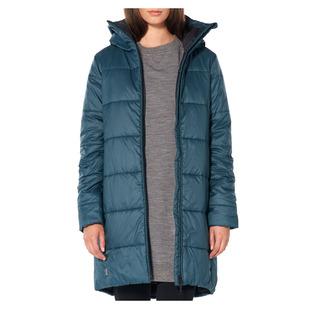Collingwood 3Q - Manteau isolé à capuchon pour femme