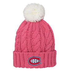 Pink Jr - Girls' Knit Tuque with Pompom