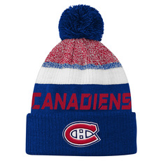 Authentic Pro Rinkside Team Jr - Junior Knit Tuque with Pompom