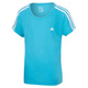 Essentials 3-Stripes Jr - Girls' Training T-Shirt - 0