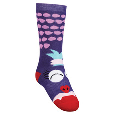 Monster-She Jr - Junior Cushioned Ski Socks