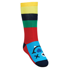 Happy Monster Jr - Junior Cushioned Ski Socks