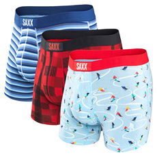 Vibe - Men's Fitted Boxer Shorts (Box of 3)