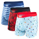 Vibe - Men's Fitted Boxer Shorts  - 0