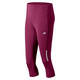 Run - Women's Running Fitted Capri Pants  - 0