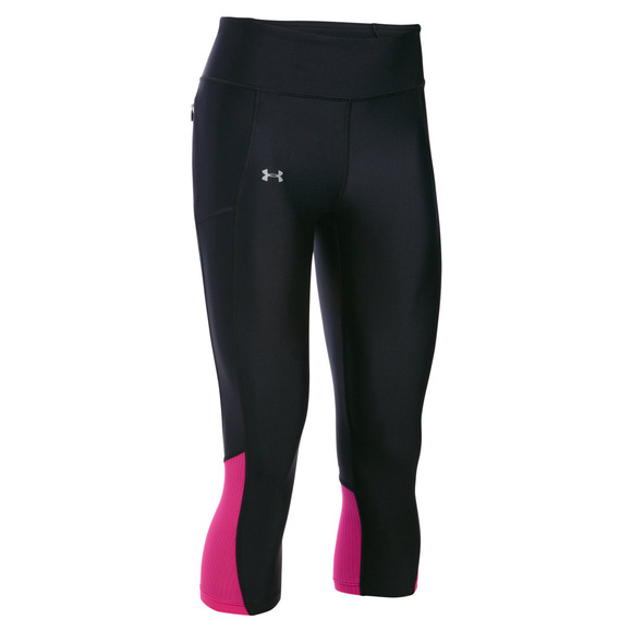 Fly By - Women's Compression Capri Pants -  In Support of Canadian Breast Cancer Foundation