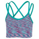 Spacedye Strappy - Girls' Sports Bra    - 0