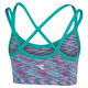 Spacedye Strappy - Girls' Sports Bra    - 1